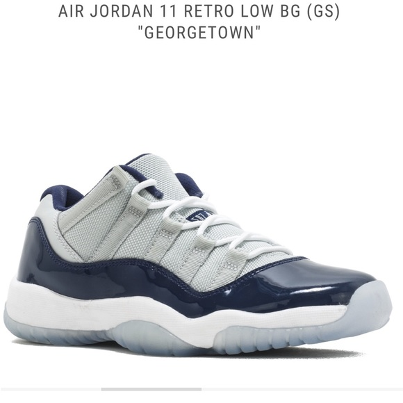 15fd5e6312ebf5 NWT AIR JORDAN 11 RETRO LOW BG (GS)